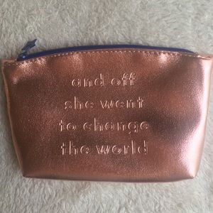 """""""And Off She Went To Change The World"""" Ipsy Bag"""